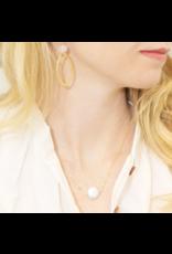 Hazen & Co Annie Necklace in Gold by Hazen & Co