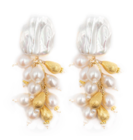Hazen & Co Lily of the Valley Earring by Hazen & Co