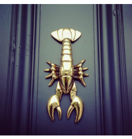 Michael Healy Designs Lobster Brass Door Knocker