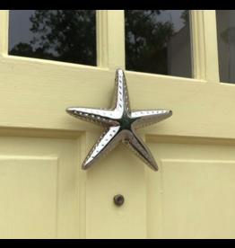 Starfish Nickel Door Knocker