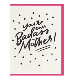 Dahlia Press Badass Mother Card