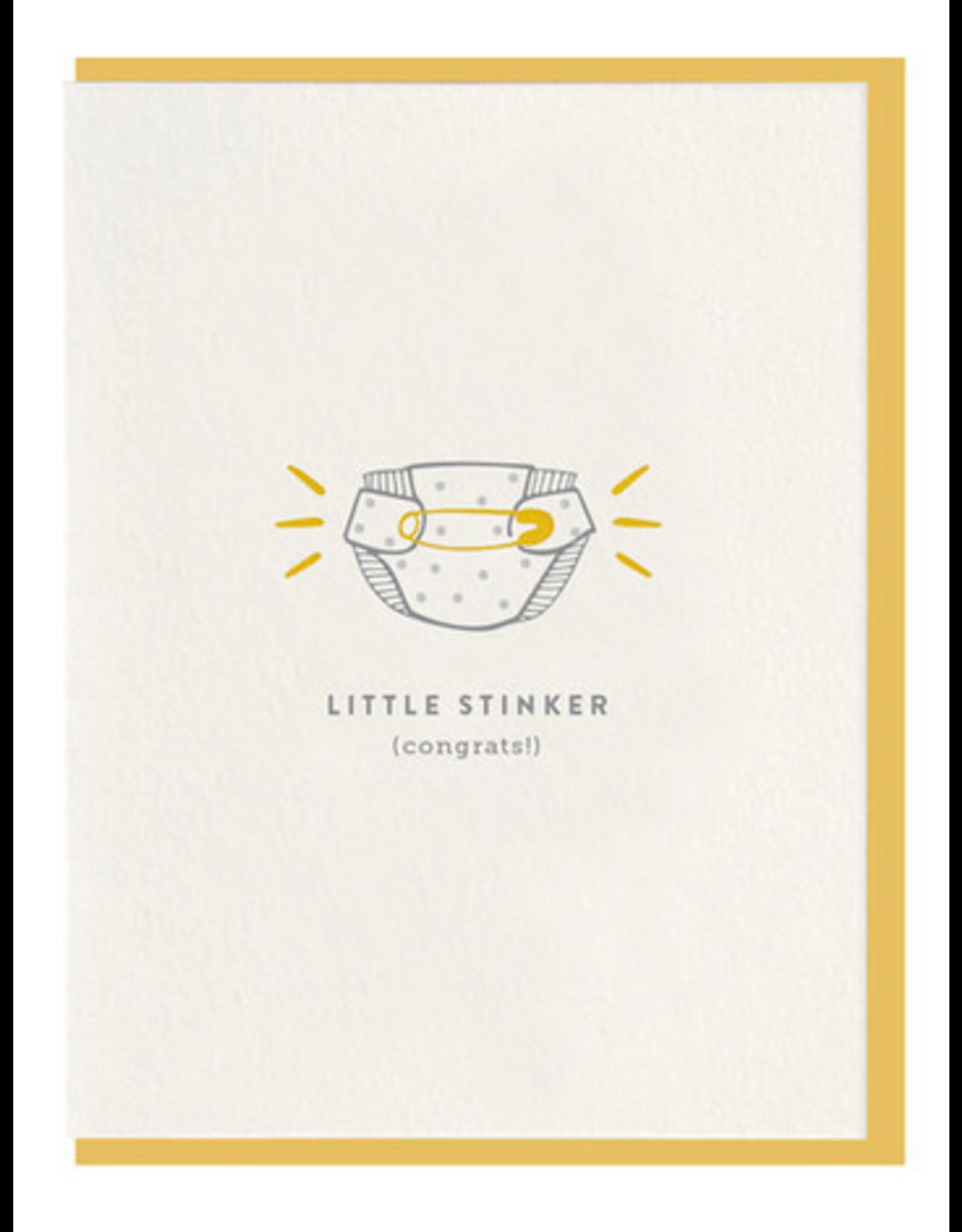 Dahlia Press Little Stinker Card
