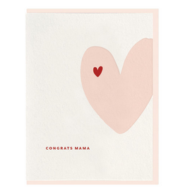Dahlia Press Congrats Mama Card