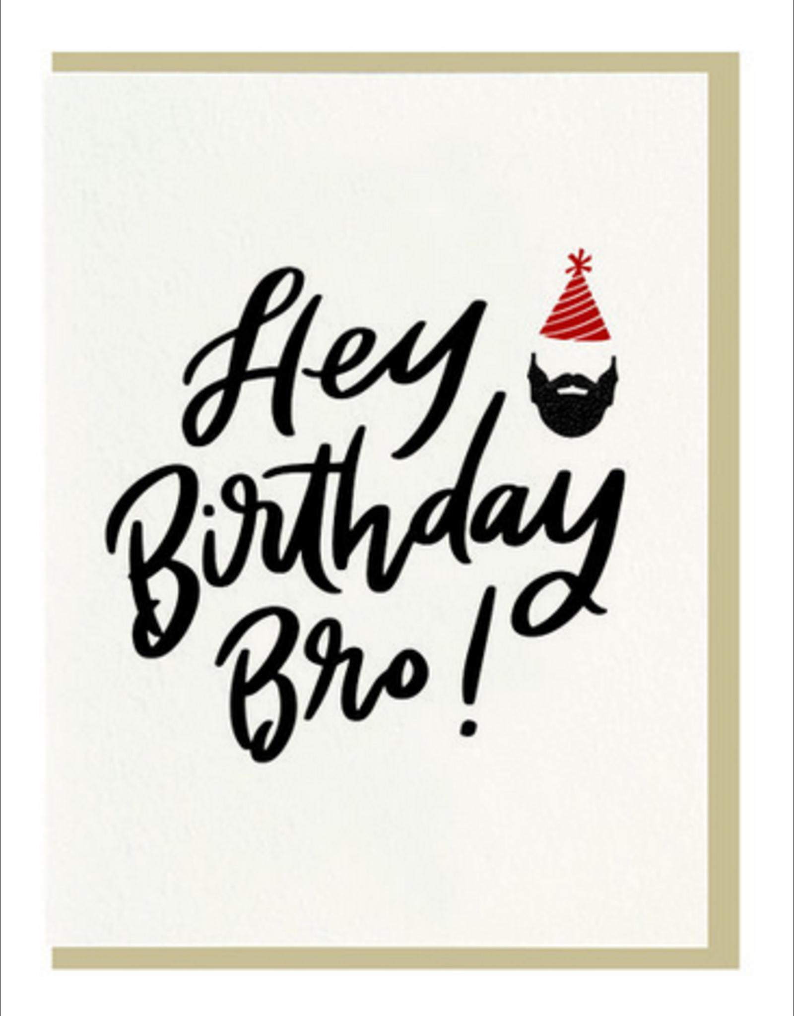 Dahlia Press Birthday Bro Card
