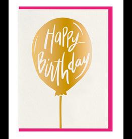 Dahlia Press Happy Birthday Balloon Card