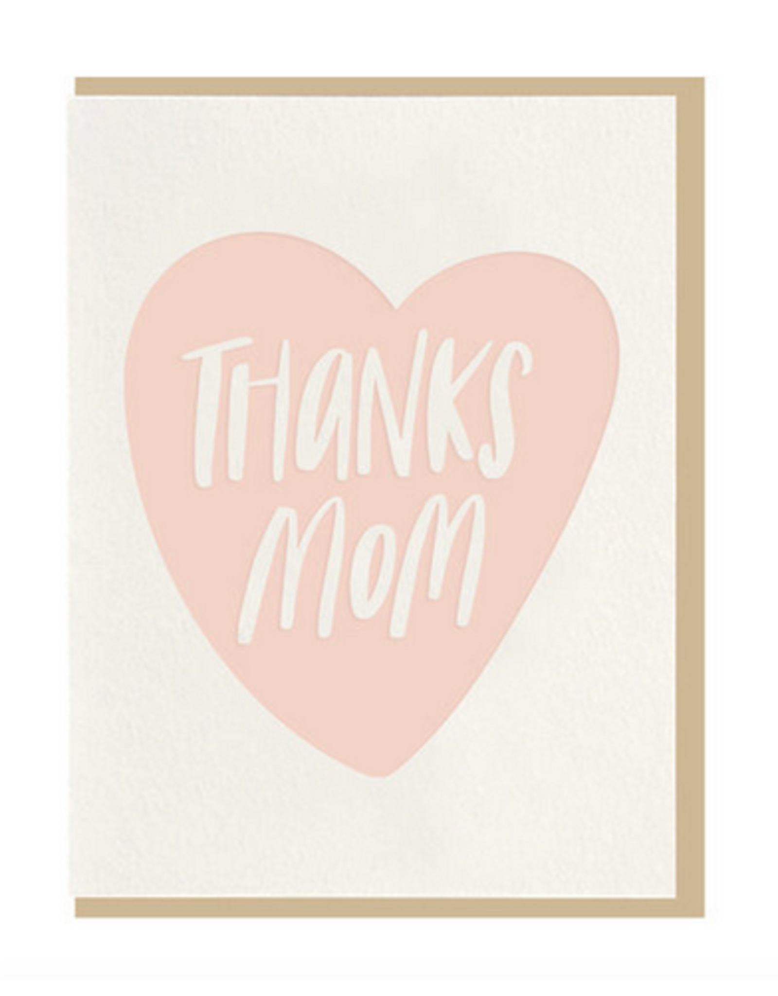 Dahlia Press Thanks Mom Card