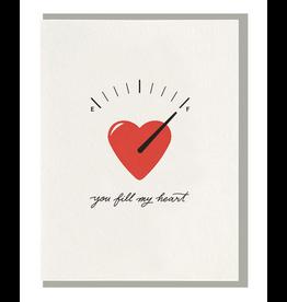 Dahlia Press Fill My Heart Card