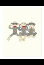 Felix Doolittle Monkey Business Card