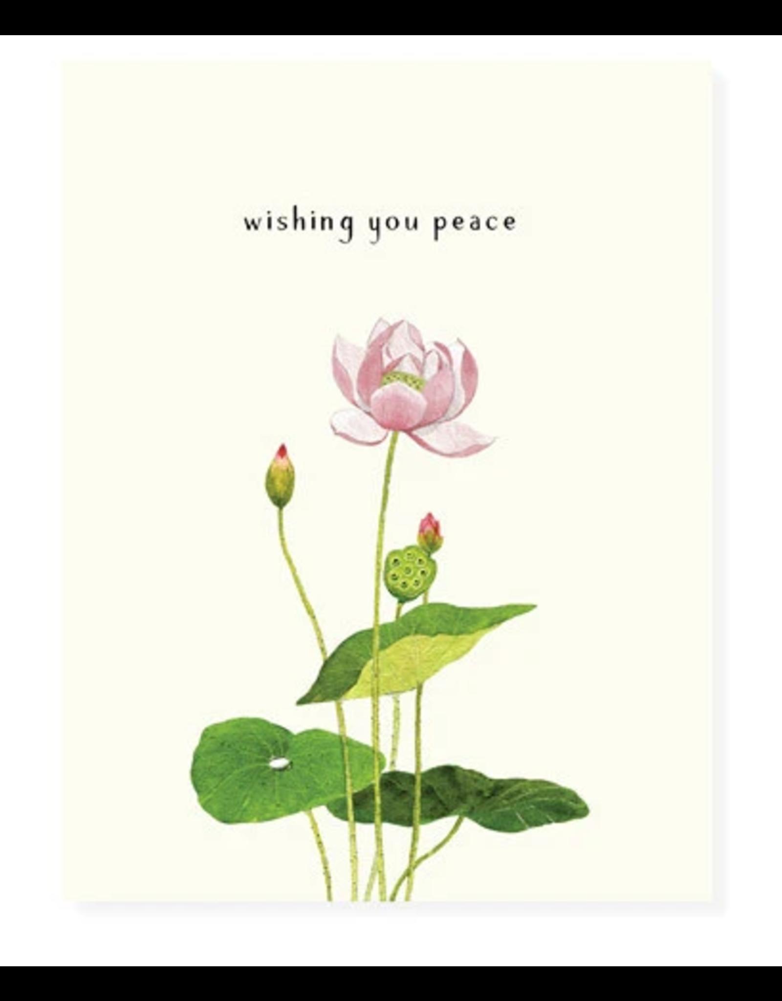 Felix Doolittle Peaceful Lotus Card
