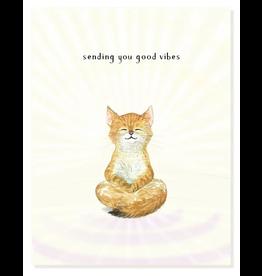 Felix Doolittle Good Vibes Card