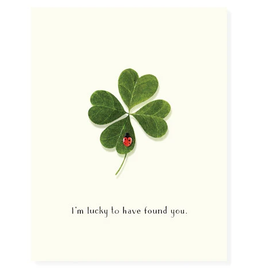 Felix Doolittle Luckiest Love Bug Card