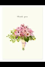 Felix Doolittle Poppy Bouquet Card