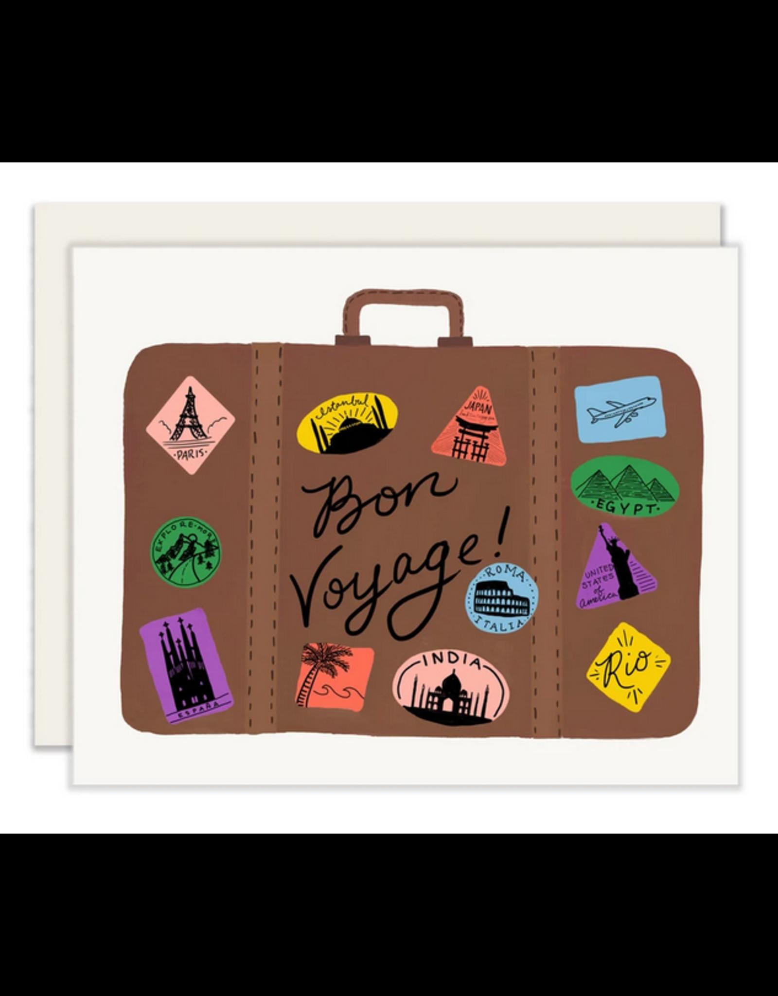 Slightly Stationery Bon Voyage Card