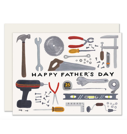 Slightly Stationery Father's Day Tools Card