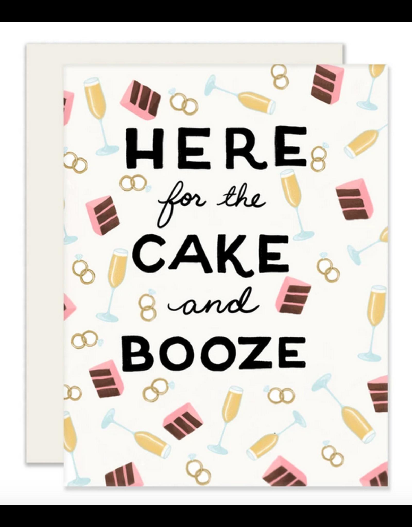 Slightly Stationery Cake & Booze Card