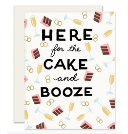Slightly Stationery Cake & Booze Card