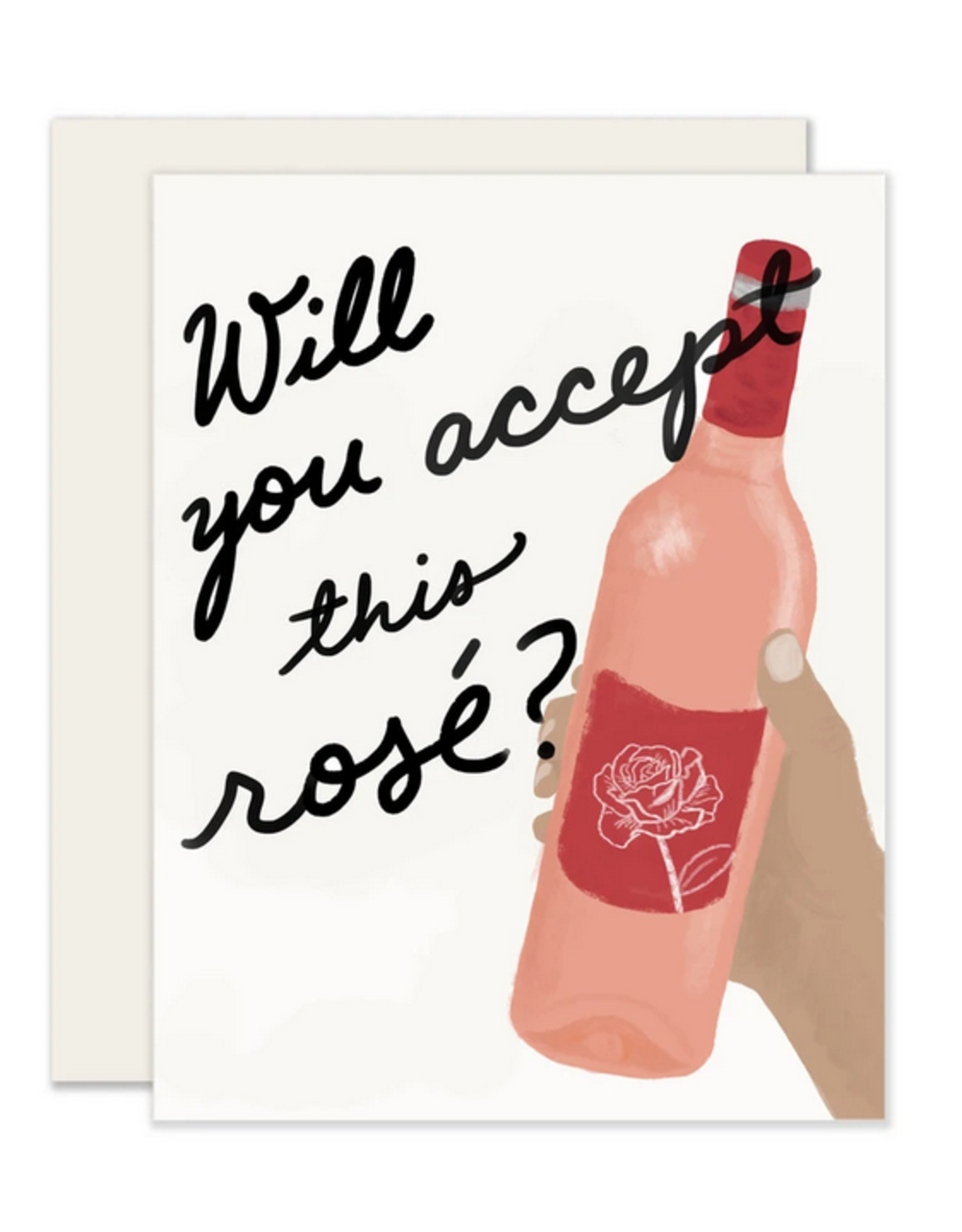 Will You Accept This Rose Card