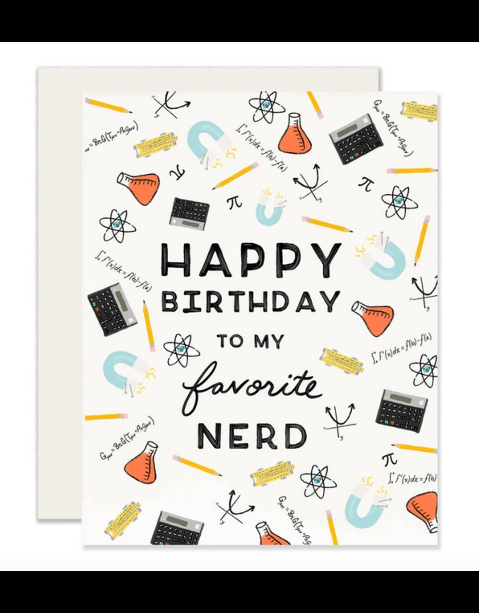 Favorite Nerd Card