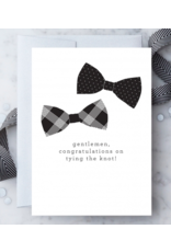 Design With Heart Gentlemen, Congratulations Card