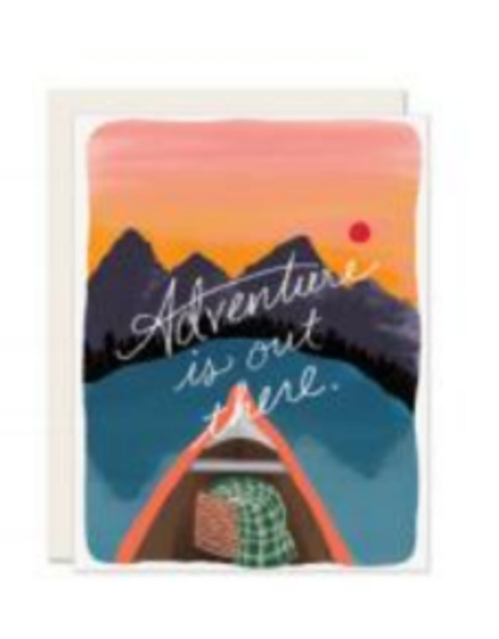 Adventure Is Out There Card