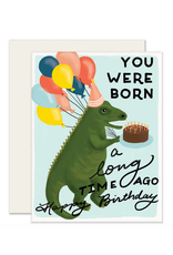 Slightly Stationery Dino Birthday Card