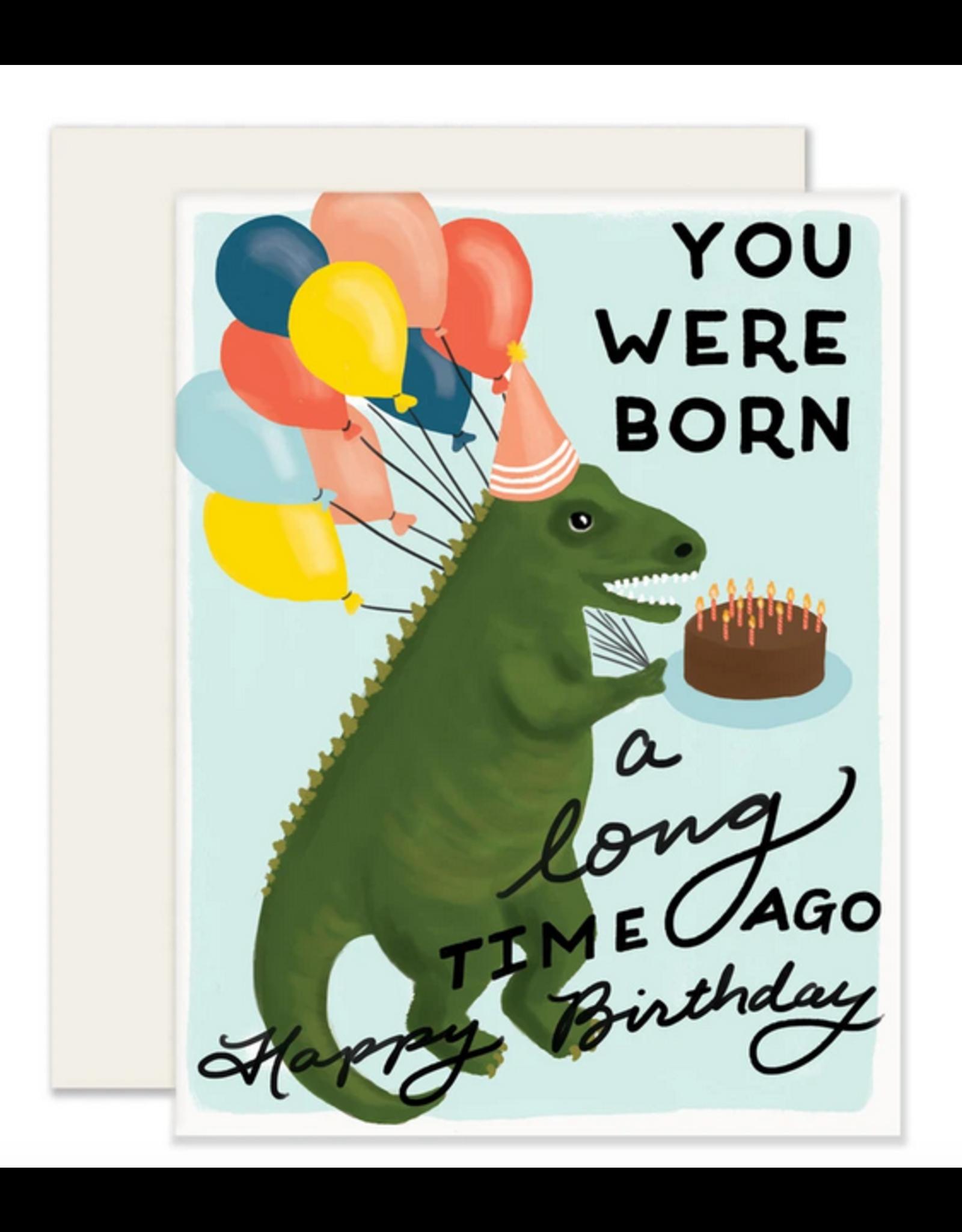Dino BDay Card
