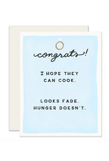 Slightly Stationery Hope They Can Cook Card