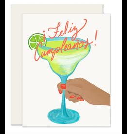 Slightly Stationery Margarita  Birthday Card