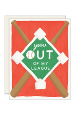 Out Of My League Card
