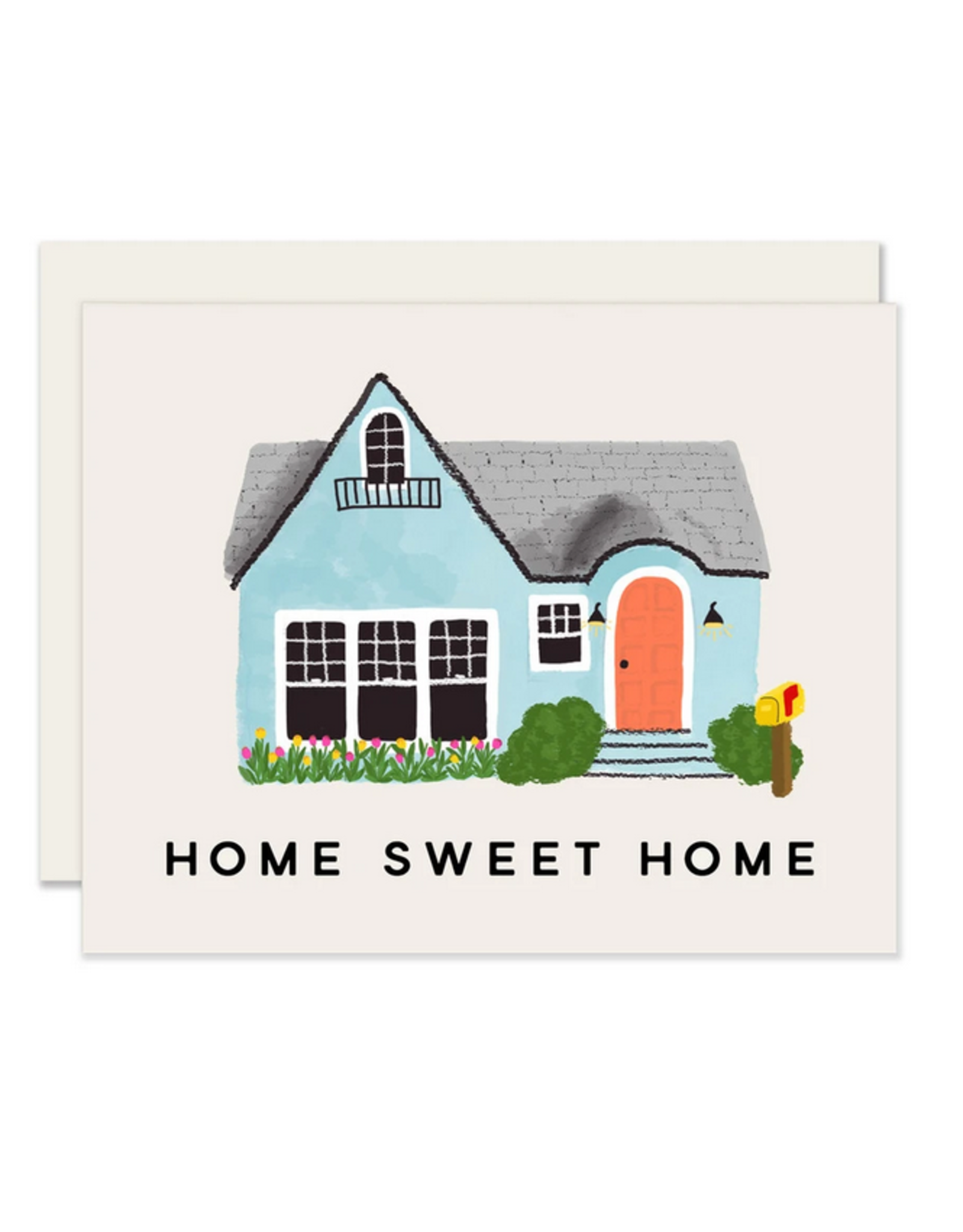 Home Sweet Home Pink Door Card