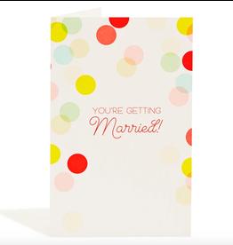 Snow & Graham Wedding Confetti Card