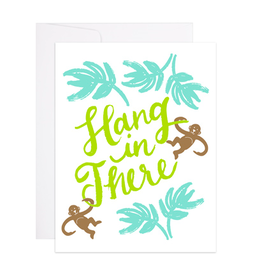 9th Letterpress Hang In There Card