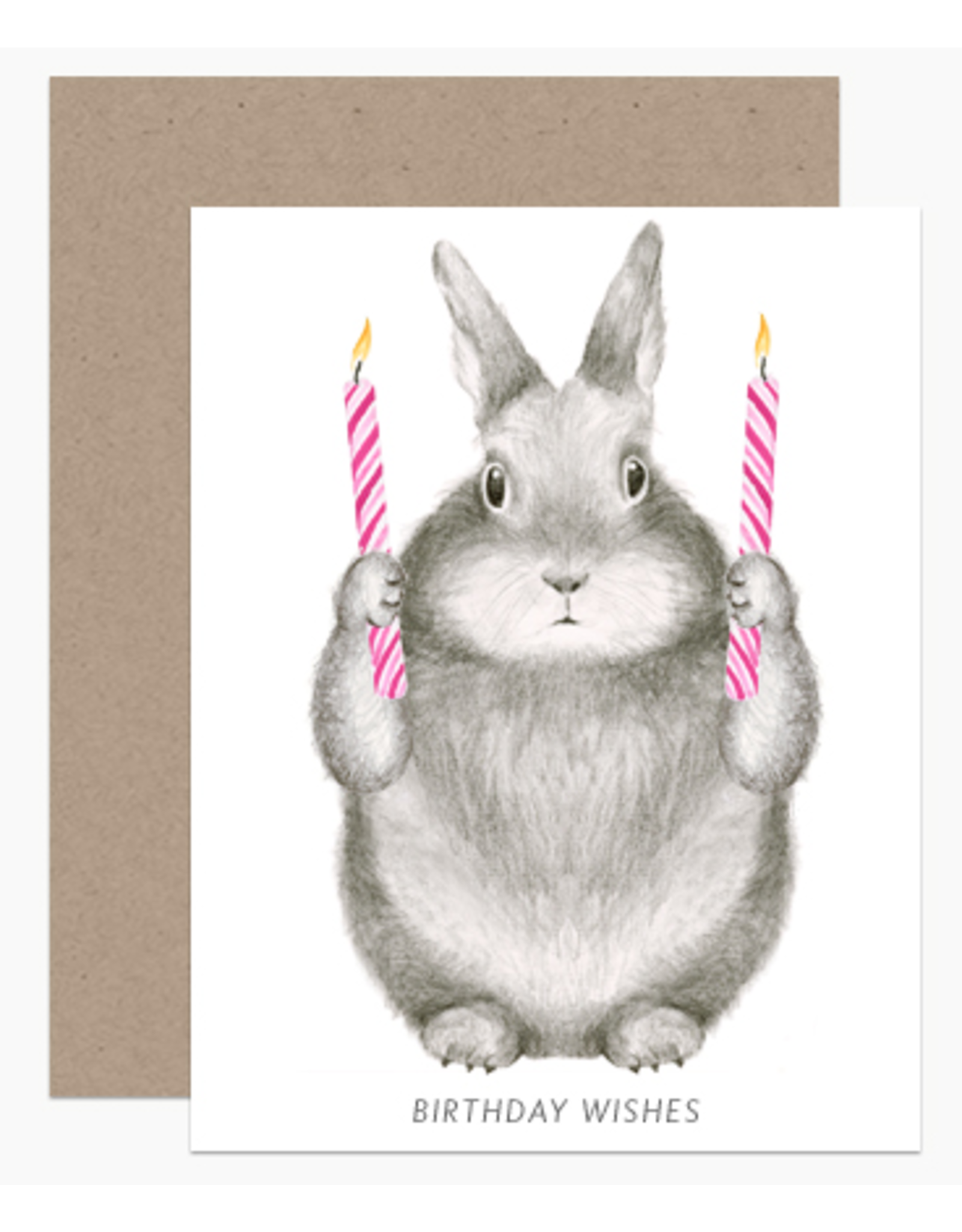 Dear Hancock Birthday Wishes Bunny Card
