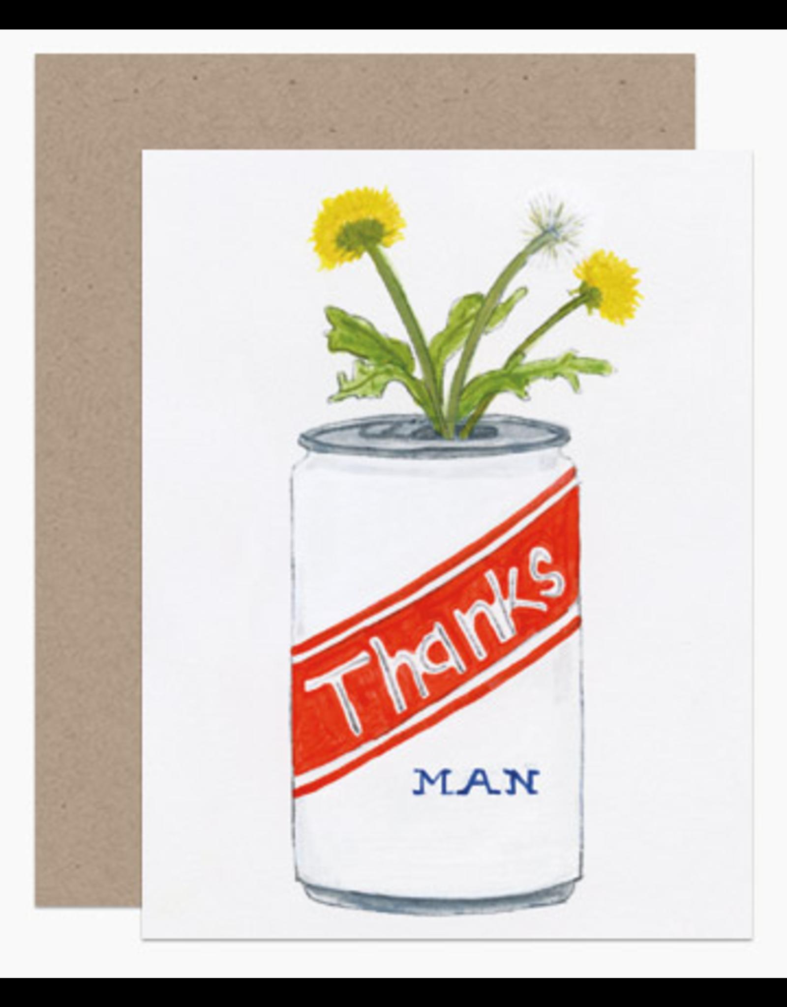 Dear Hancock Thanks Man Card