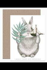 Dear Hancock Friendship Bunny Card