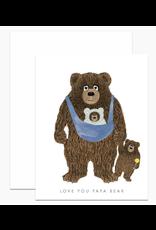 Dear Hancock Papa Bear Card