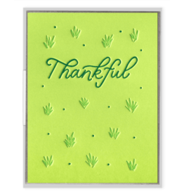 Ink Meets Paper Agave Thankful Card