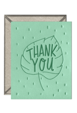 Leaf Thank You Card