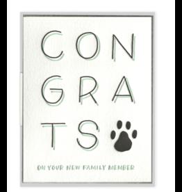 Ink Meets Paper New Pet Congrats Card