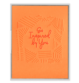 So Inspired By You Card
