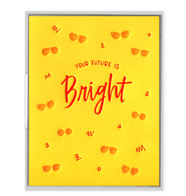 Ink Meets Paper Future Is Bright Card