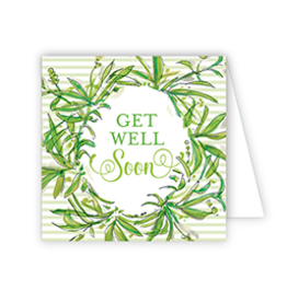 RoseanneBECK Collection Get Well Soon Enclosure Card