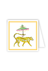Dressed Up Cheetah Enclosure Card