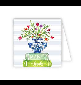 Many Thanks Books Enclosure Card