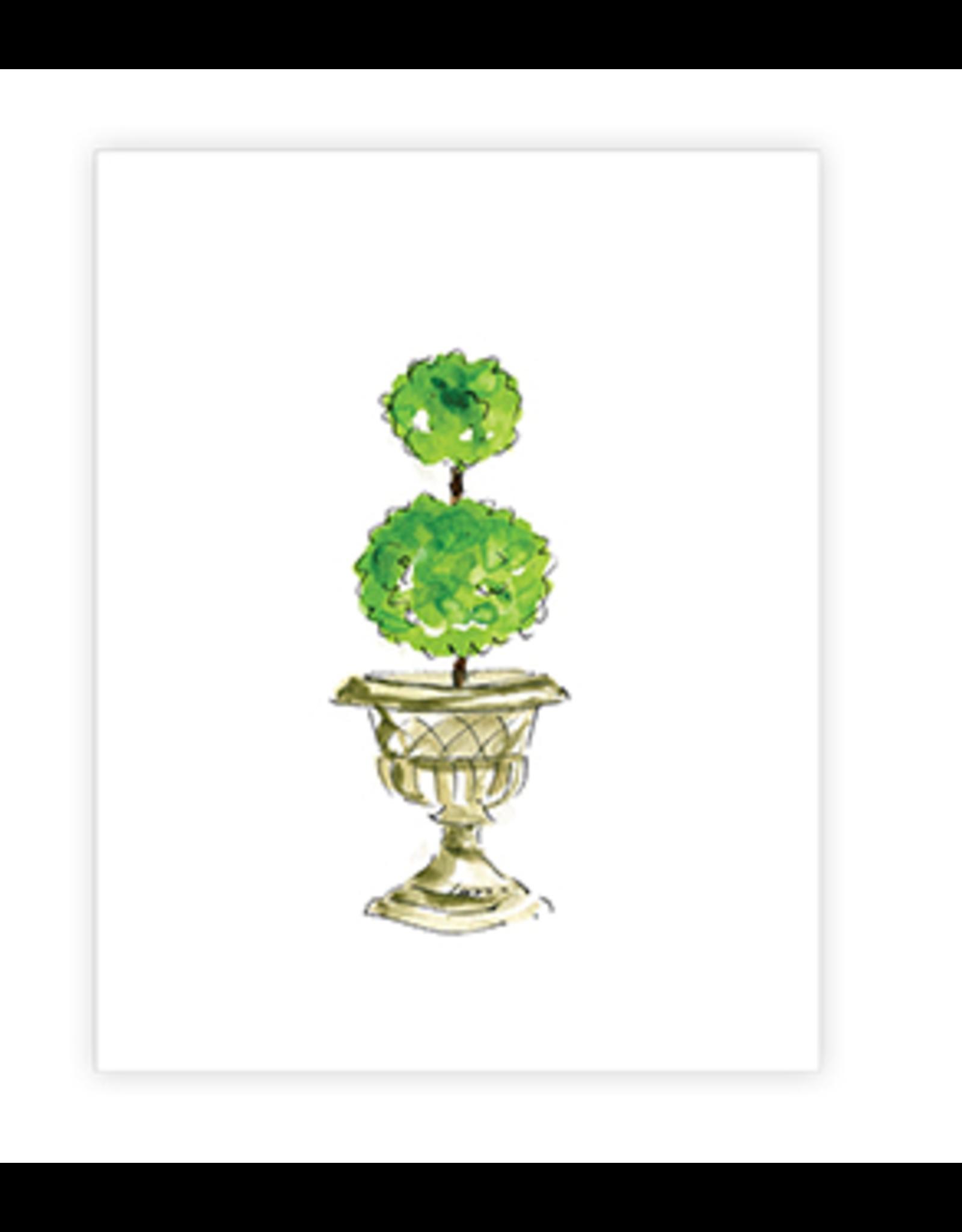 Topiary Stone Urn 8x10