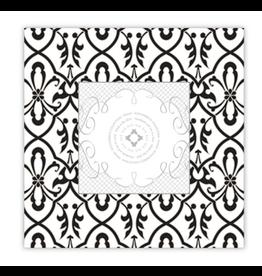 "RoseanneBECK Collection Floral Trellis Frame 3"" x 3"""