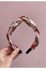Knot Headband in Pink Floral