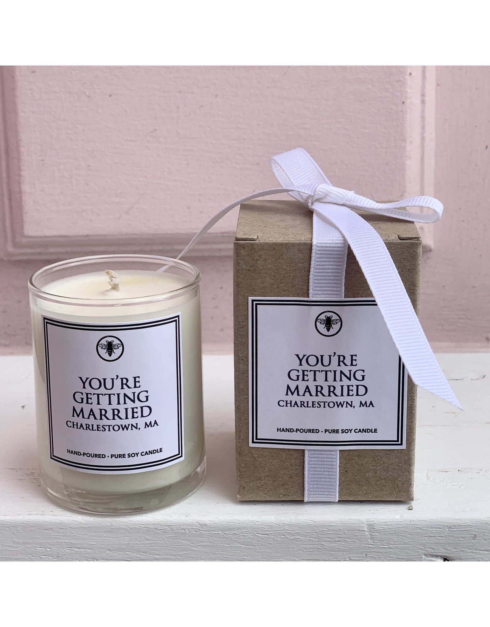 You're Getting Married 3 oz Votive Candle