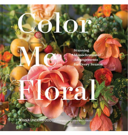 Hachette Color Me Floral Book