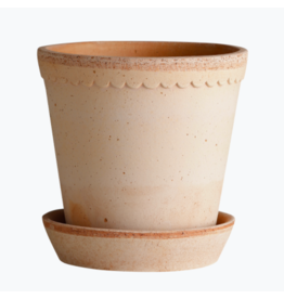 Bergs Potter Helena Pot in Rose + Saucer by Bergs Potter